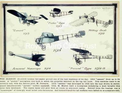The Bleriot 1912-1915