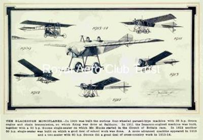 The Blackburn monoplanes