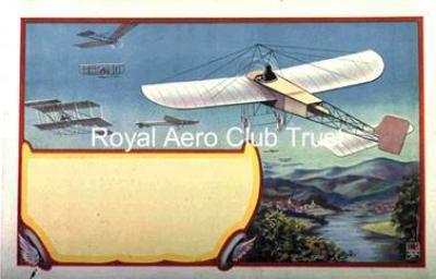Poster blank for aviation meeting c 1910